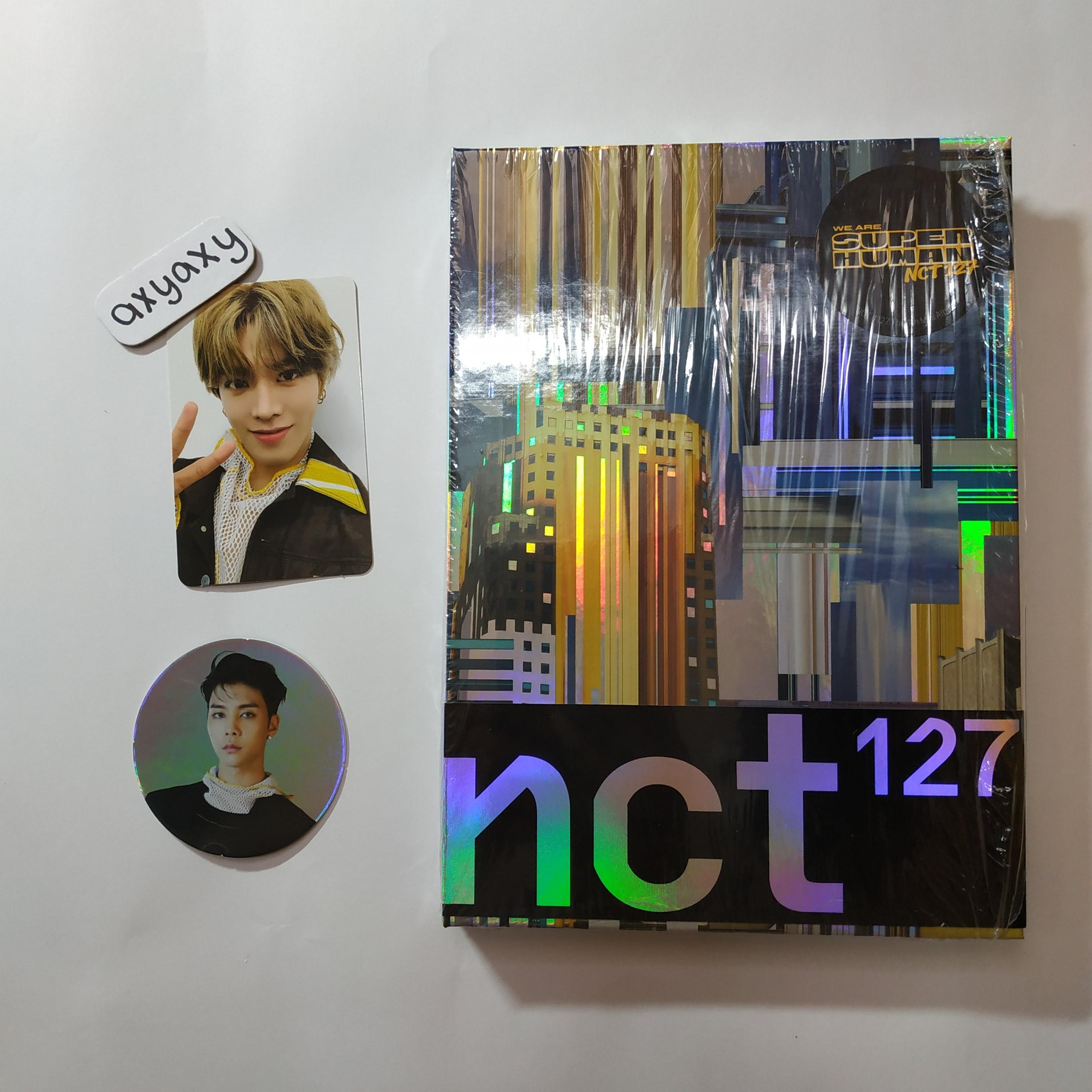 [WTS] NCT 127 SUPERHUMAN Normal Album with Yuta pc and Johnny cc