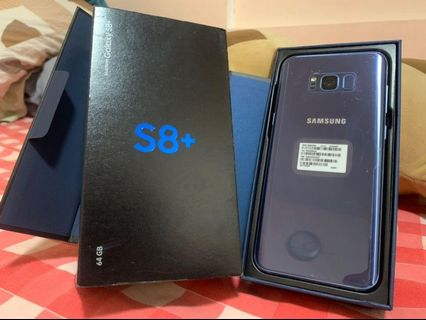 Samsung s8 plus 64gb Single sim No issue Rush