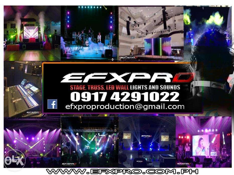 Light Sound Led Wall Stage Trusses Roofing Djs Mobile Drums