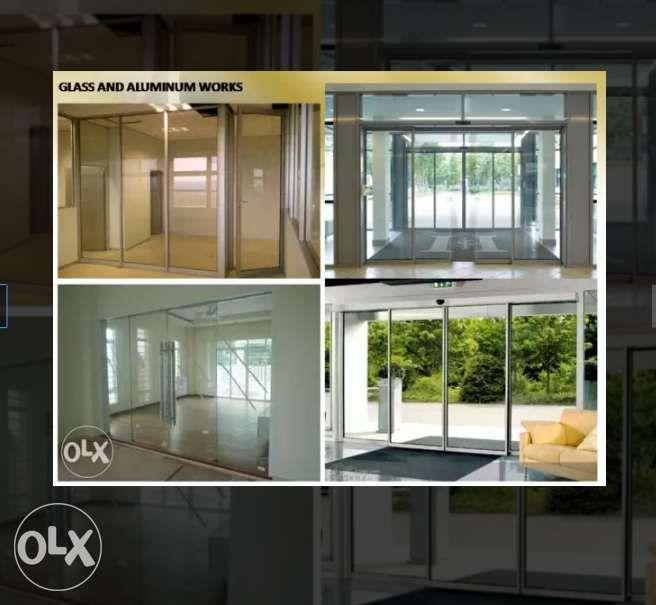 All kind of Roll Up Doors Glass Aluminum and Stainless Steel Works