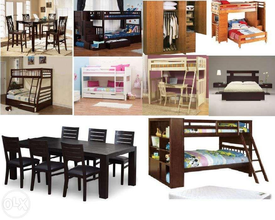 Customized Furniture Bunk bed Cabinets living room set dining room set