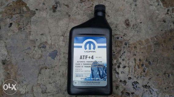 Mopar ATF4 Automatic Transmission Fluid for Jeep Chrysler Dodge