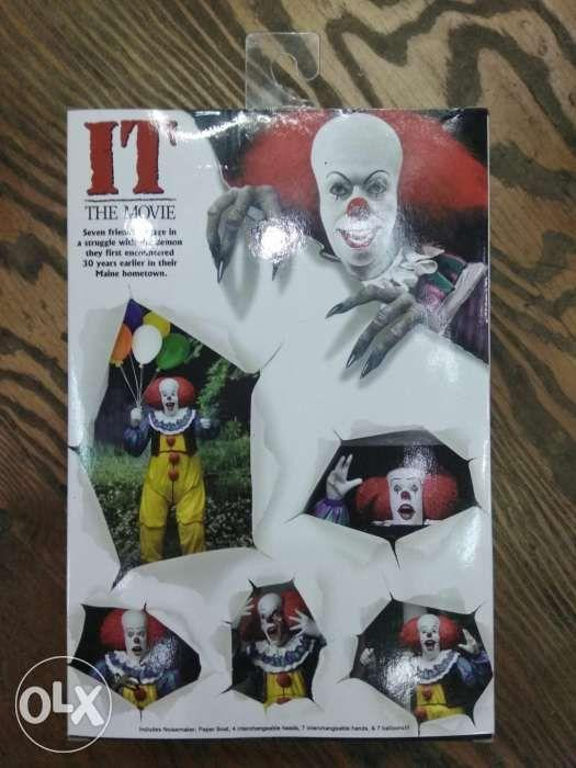 Neca IT the Movie 1990 Pennywise Clown Reel Toys
