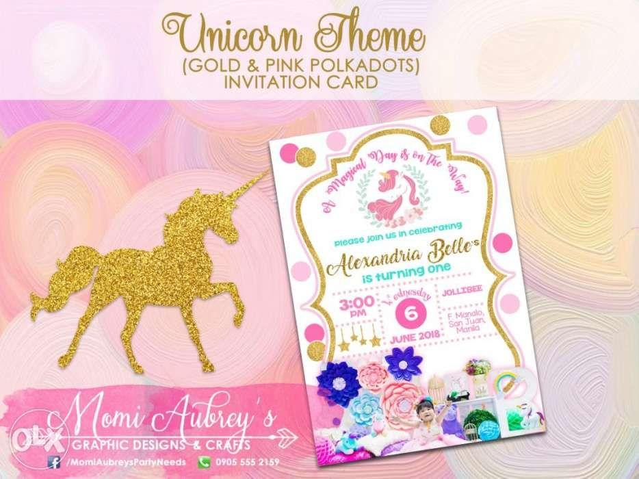 Invitation Cards Christening On Carousell