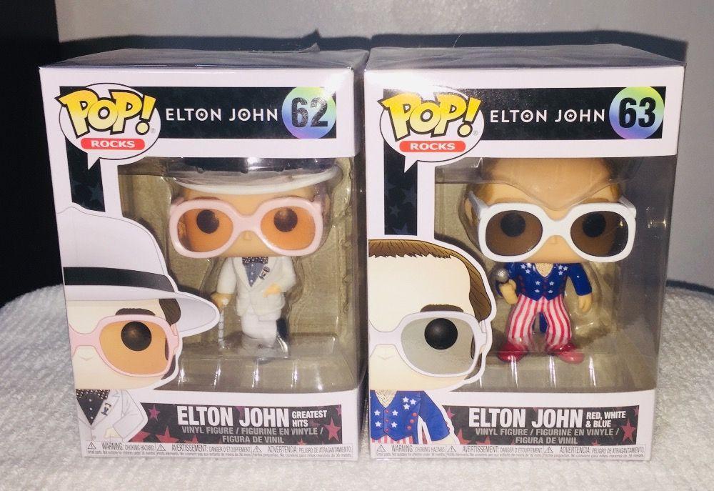 ROCKS ELTON JOHN 62 Elton John Greatest Hits FUNKO Pop