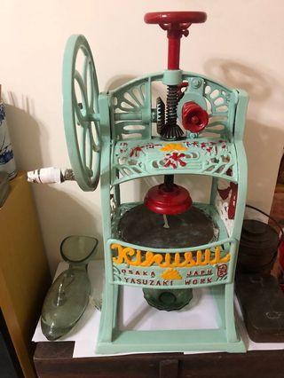 古董刨冰機