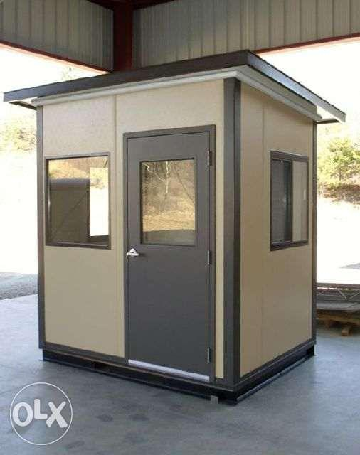 portable office homes I guess house I container van I guardhouse