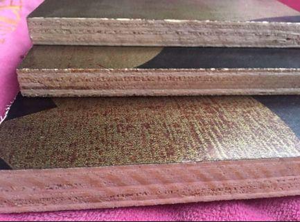 Phenolic plywood Board carrying Channel metal Stud metal furring