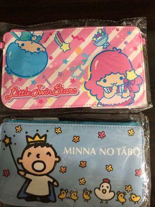 Sanrio Little Twin Stars / Minna No Tabo 大口仔 隨行袋