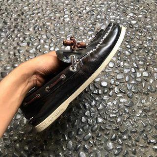 sperry top sider a/o 1 eye leather navy