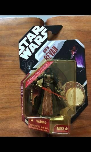 🚚 Star Wars Hasbro 2007 30th Anniversary Toyfare Fan's Choice Darth Revan
