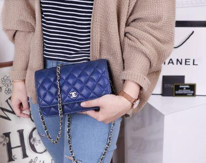 Chanel Flap Woc Caviar Quilted GHW BAG