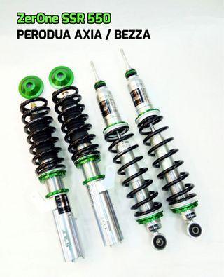 Zerone SSR550 adjustable for Perodua Axia / Bezza