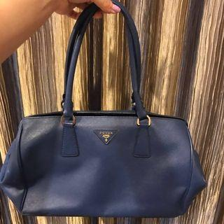 Prada Blue Handbag