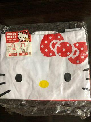 Hello Kitty 環保袋 canvas carrying bag