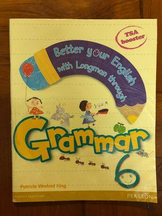 二手 小六 Better your English with Longman through Grammar