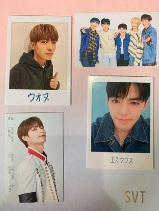seventeen official trading cards