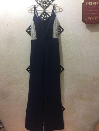 Wardrobe clear‼️navy blue jumpsuit