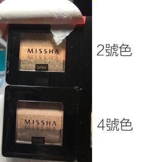 Missha 三色眼影