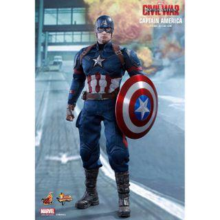 "🚚 Hot Toys ""Captain America: Civil War"" Captain America"