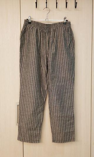 女版薄西裝式長褲