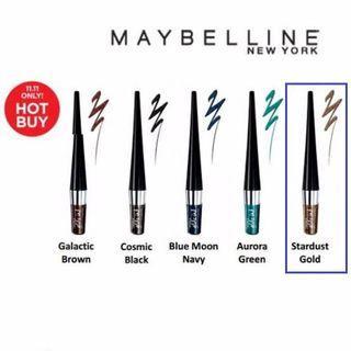 Maybelline Hyper Ink Glitz Stardust Gold eyeLiner