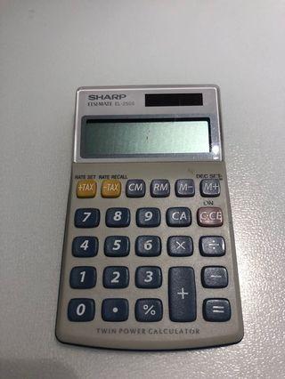 Sharp Twin Power Calculator