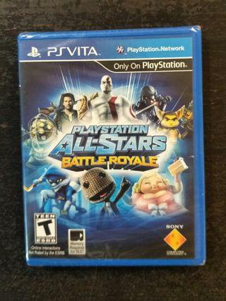 🚚 New/Sealed PS Vita PlayStation All-Stars Battle Royale Psvita