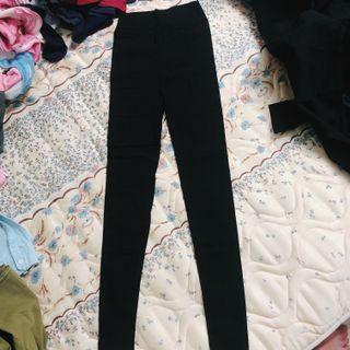 全新黑色鉛筆褲