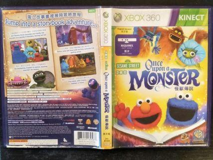 Xbox 360 Kinect Sesame Street Once Upon A Monster