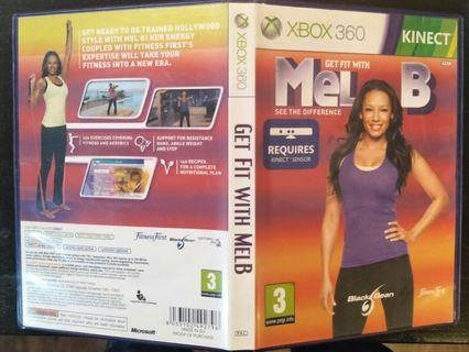 Xbox 360 Kinect Get Fit With Mel B