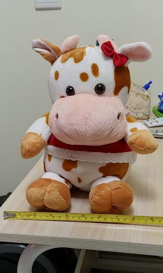 牛牛毛公仔 Cow soft toy