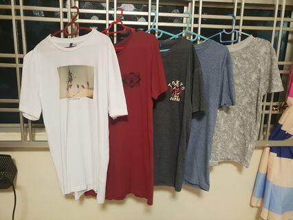 5 comfy shirt @ $30