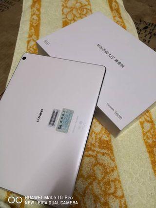 Huawei m3 lite tab 10.1 like new fullset 4g lte