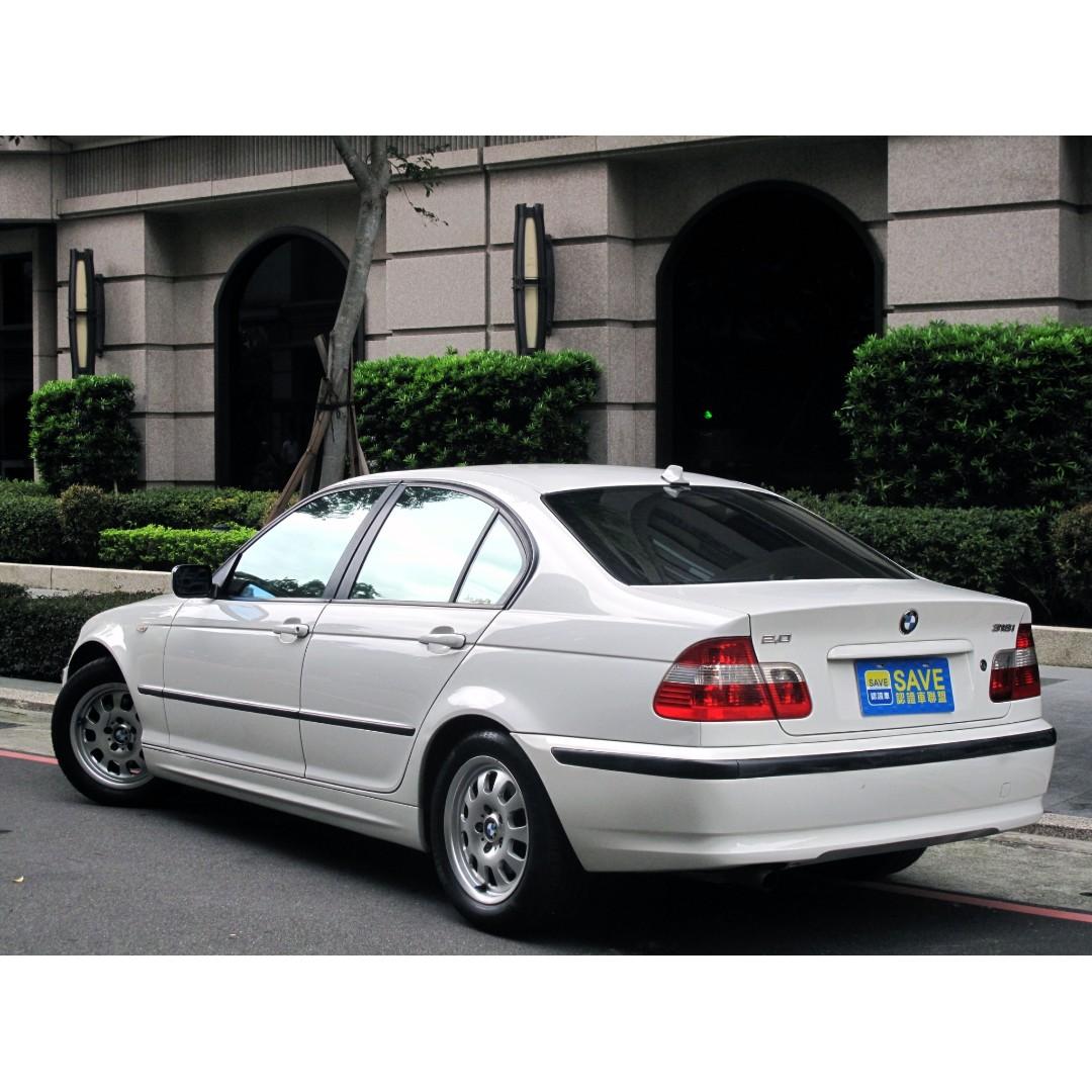 03年 BMW 318 E46 HID魚眼光圈 定速 防滑
