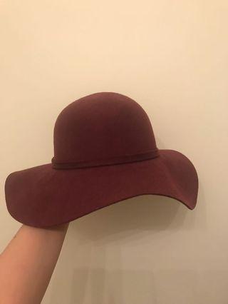 Flowy Purple Hat