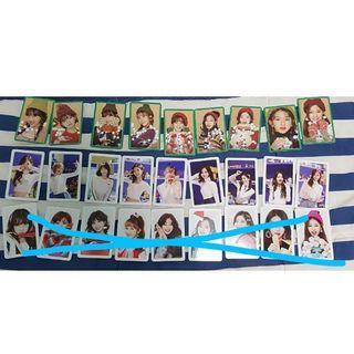 TWICE HeartShaker Fullset Photocard