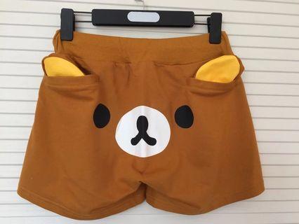 ⚡️預訂⚡️鬆綁熊 居家褲 夏天 短褲 可愛 san-x 送禮 自用 全新