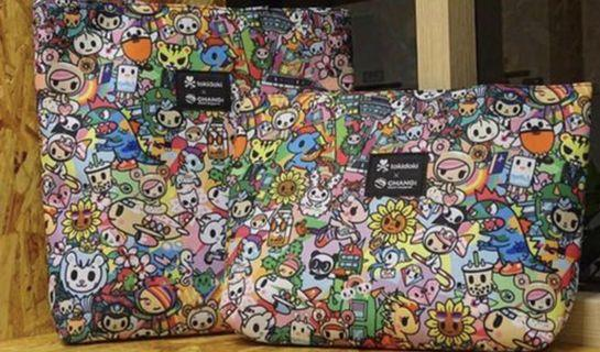 $19.90* Brand New Tokidoki x Changi Airport Mother & Daughter Bag Set
