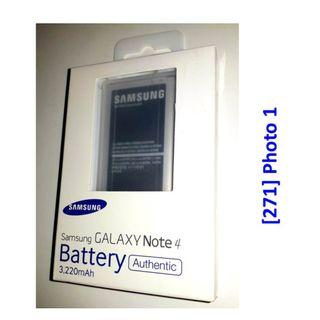 [271] Samsung OEM Phone Battery for Samsung Note 4