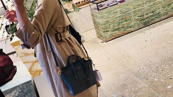 Primark 32 XS beige cotton raincoat 乾濕褸 trench with shopping bag