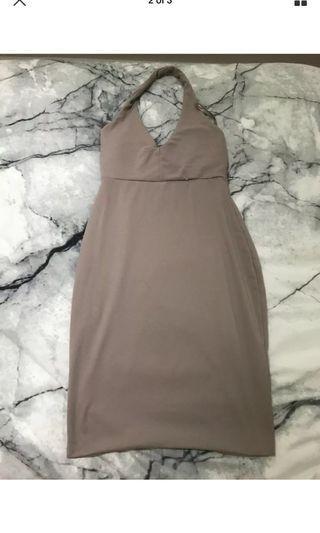 Halter bodycon dress,XS-S