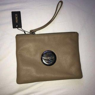 Brand new Mimco Large Pouch brown