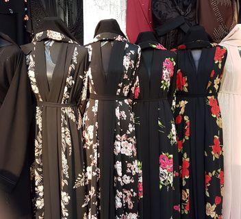 Floral Dubai Abaya (limited period offer)