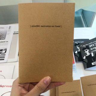 A6 Notebook - error404: motivation not found