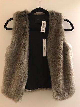 BNWT Aritzia Talula Fur Vest