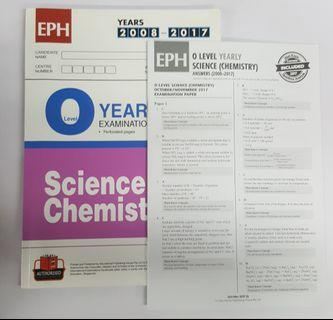 🚚 O Level Combined Sci (Chem) TYS (2008 - 2017)