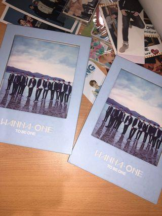 Blue Wanna One TBO albums