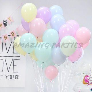 Pastel Colours 10 inch Latex Party Decoration Ballooon