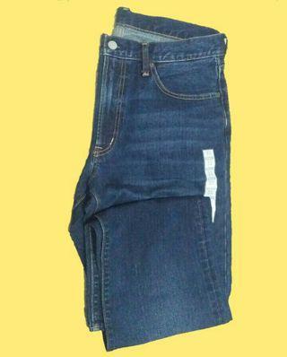 Celana jeans GU ori Pria size 32